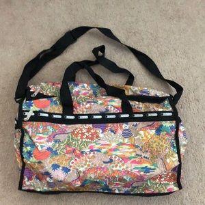 Huge LeSportsac Weekender / Duffle Bag